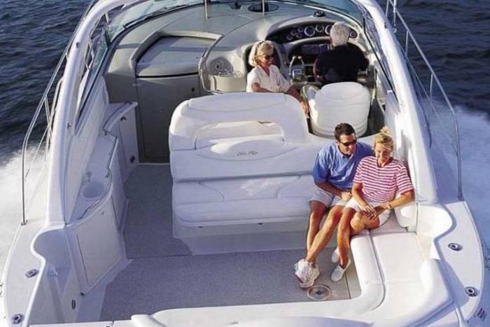 Ray Price Honda >> Sea Ray 455 Sundancer For Sale 2000